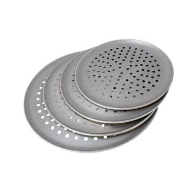 "Hatco 14PIZZA PAN 14"" Round Perforated Pizza Pan"