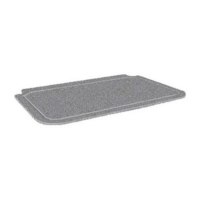 "Hatco CB3624GGRAN Swanstone 36 x 24"" Cutting Board, Gray Granite"