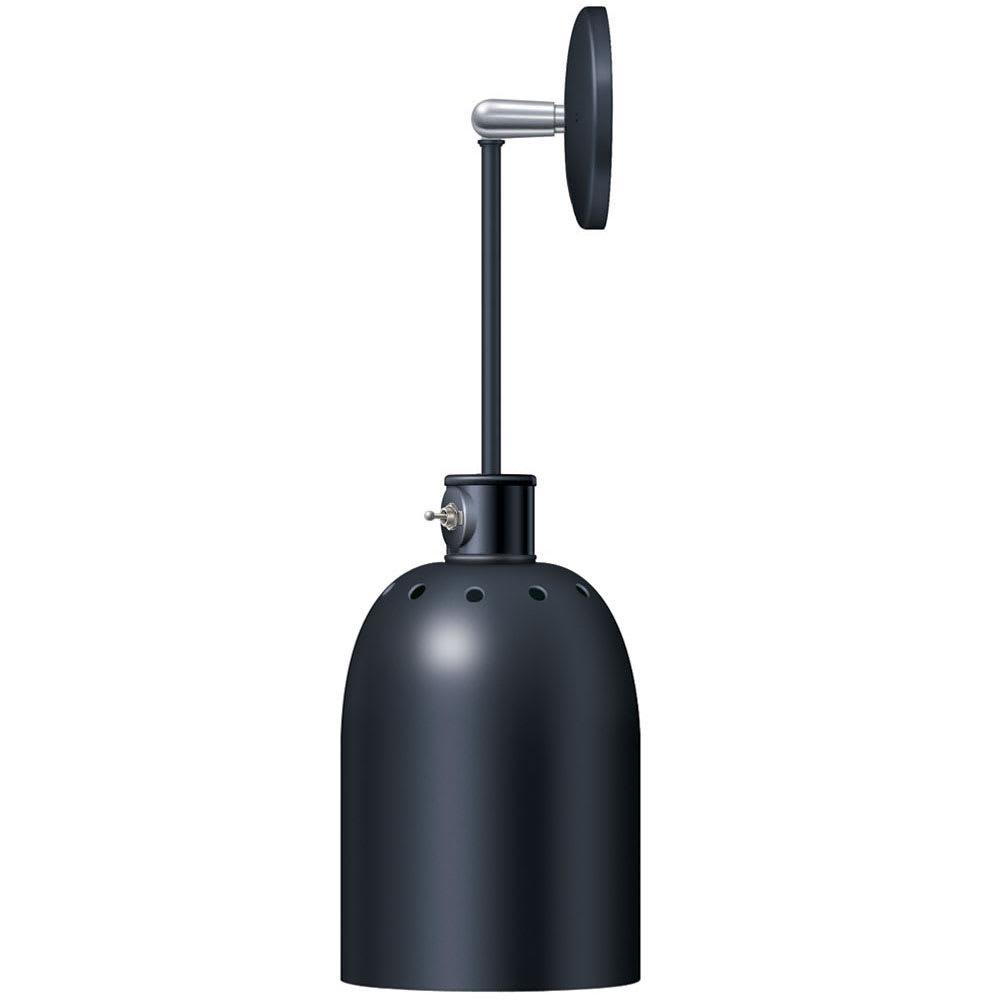 Hatco DL-400-PL Heat Lamp w/ Rigid Mount & Horizontal Pivot, Lower Switch, 400 Shade