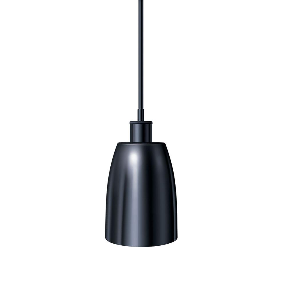 "Hatco DL-600-STR Heat Lamp, 1-Bulb, 8.5 x 6.12"", Rigid Stem Mount to Track, Remote Switch"