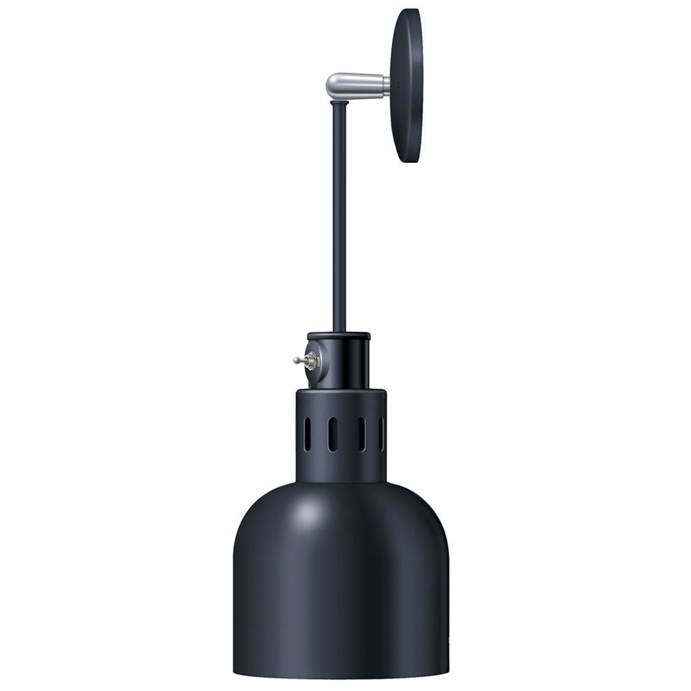 Hatco DL-700-PL Heat Lamp w/ Rigid Mount & Horizontal Pivot, Lower Switch, 700 Shade