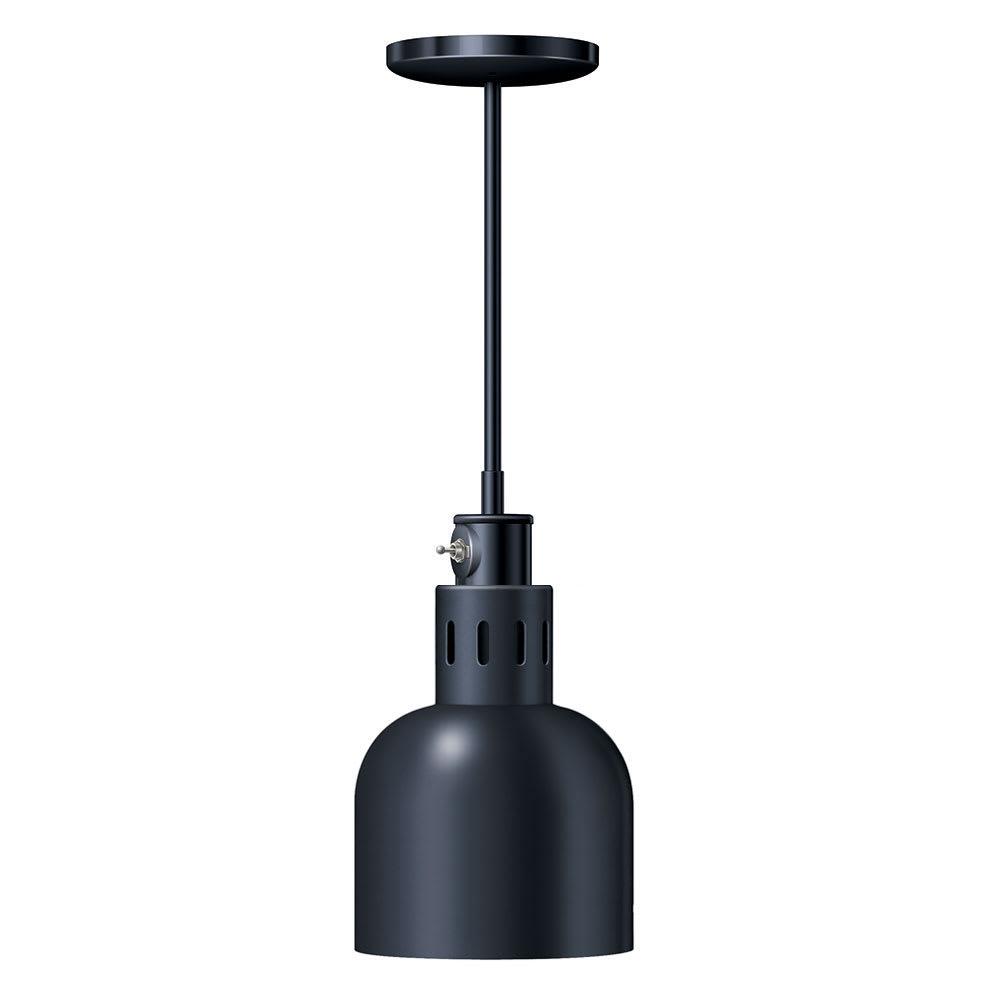 "Hatco DL-700-STL Heat Lamp, 1-Bulb, 8.5 x 6.5"", Rigid Stem Mount to Track, Lower Switch"