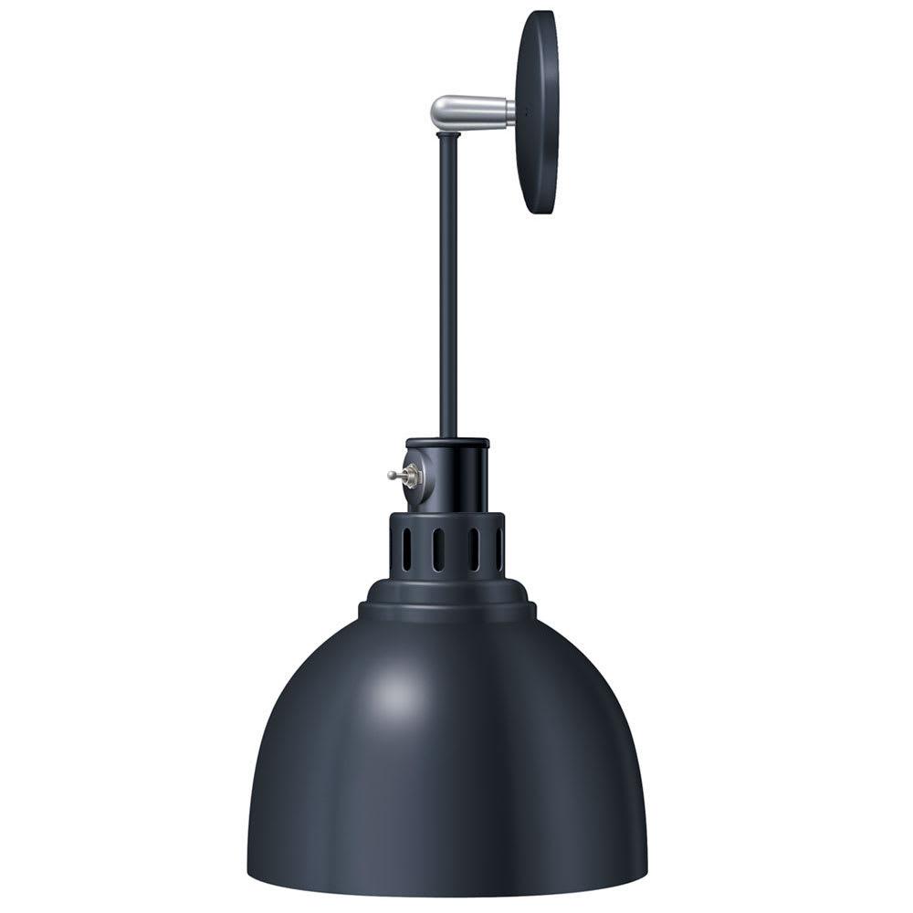 Hatco DL-725-PL Heat Lamp w/ Rigid Mount & Horizontal Pivot, Lower Switch, 725 Shade