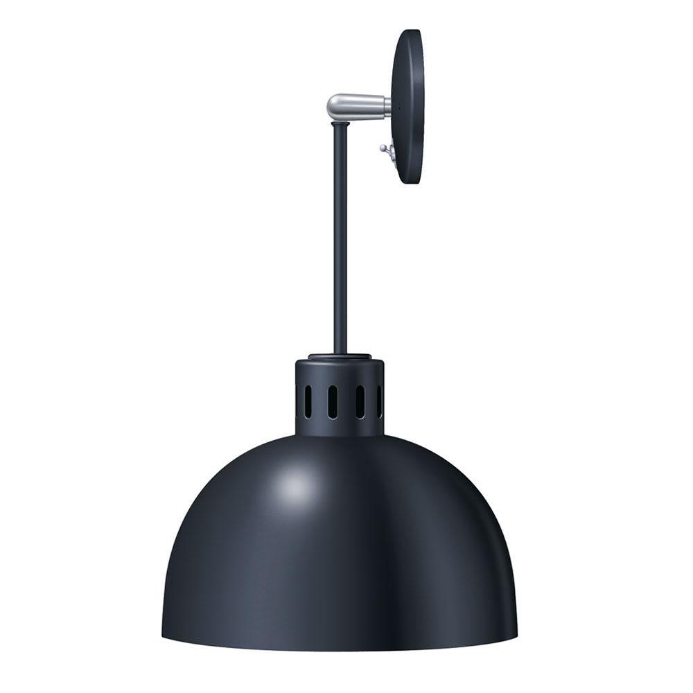 Hatco DL-750-PU Heat Lamp w/ Rigid Mount & Horizontal Pivot, Upper Switch, 750 Shade