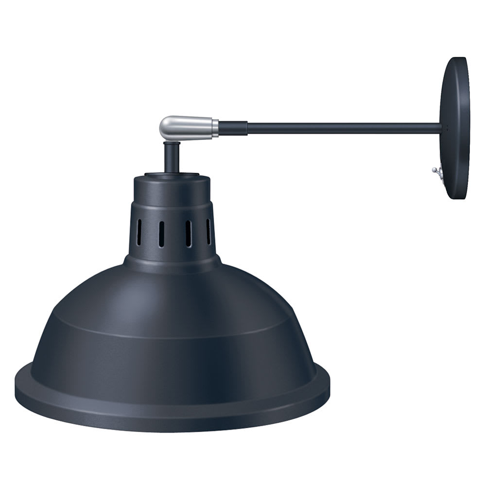 Hatco DL-760-AU Heat Lamp, Rigid Mount to Canopy w/Pivot, Upper Switch, 760 Shade