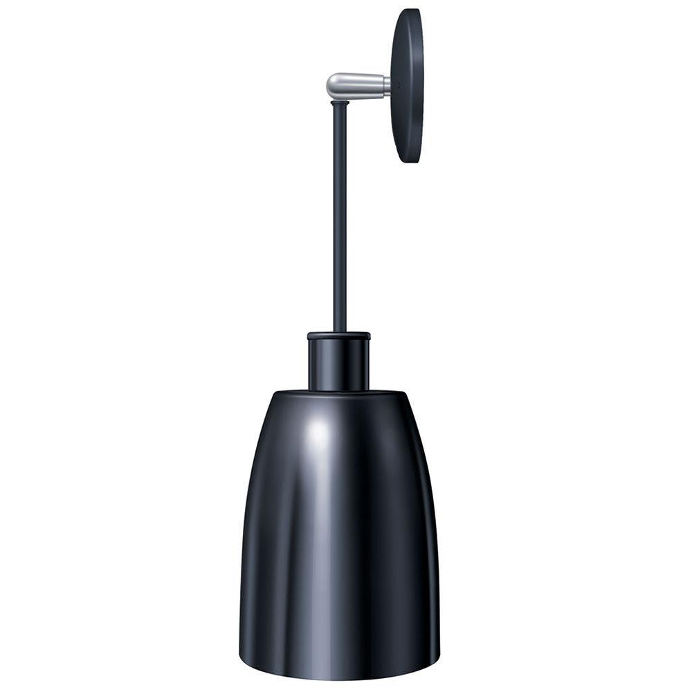 "Hatco DLH-600-PN High Watt Heat Lamp, 8.5 x 6.12"", Rigid Mount to Canopy w/ Pivot, No Switch"