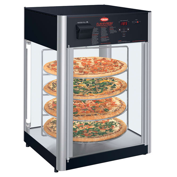 "Hatco FDWD-2 19.39"" Rotating Heated Pizza Merchandiser w/ 4 Levels, 120v"