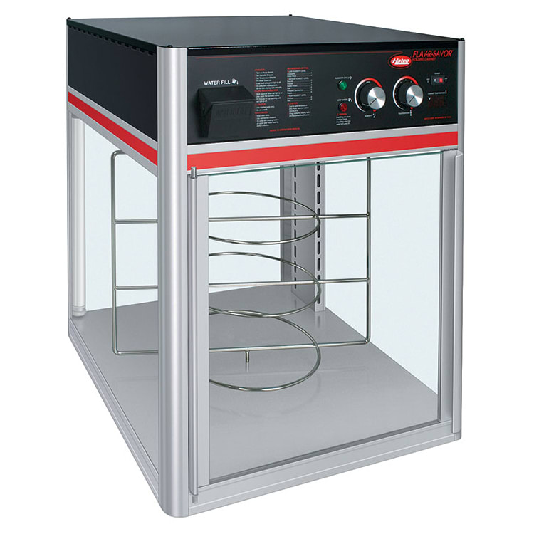Hatco FSD-1 Holding Display Cabinet w/ 3-Tier Circle Rack
