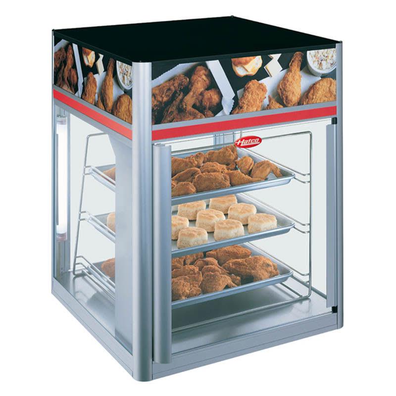 "Hatco FSD-2X 22.42"" Heated Pizza Merchandiser w/ 3-Levels, 120v"