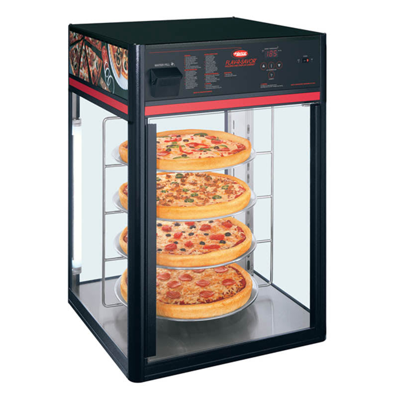 "Hatco FSDT-2 22.42"" Rotating Heated Pizza Merchandiser w/ 4 Levels, 120v"