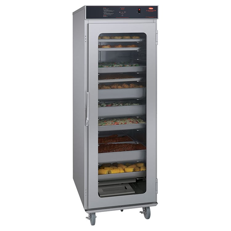 Hatco FSHC-17W1 Full-Height Insulated Mobile Heated Cabinet w/ (17) Pan Capacity, 120v