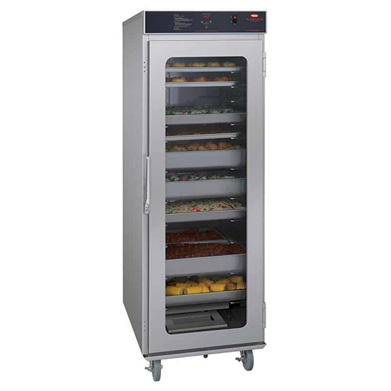 Hatco FSHC-17W1 Full-Height Insulated Mobile Heated Cabinet w/ (17) Pan Capacity, 240v/1ph