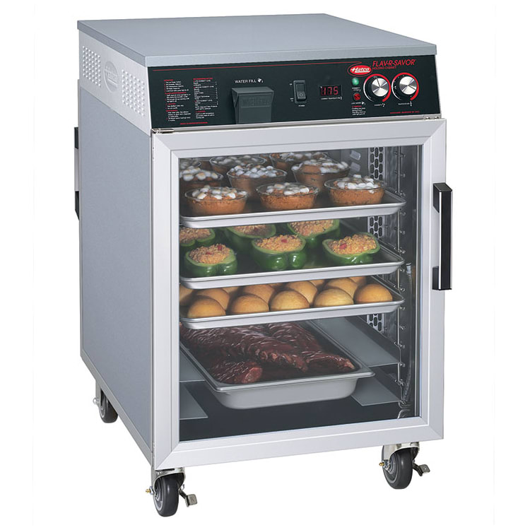 Hatco FSHC-7-1 Half-Height Insulated Mobile Heated Cabinet w/ (7) Pan Capacity, 120v
