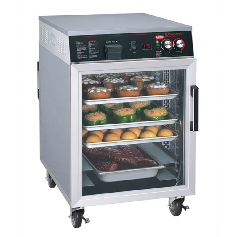 Hatco FSHC-7-2 Flav-R-Savor Holding Cabinet, Mobile Heated, Pass Thru, 1697 W