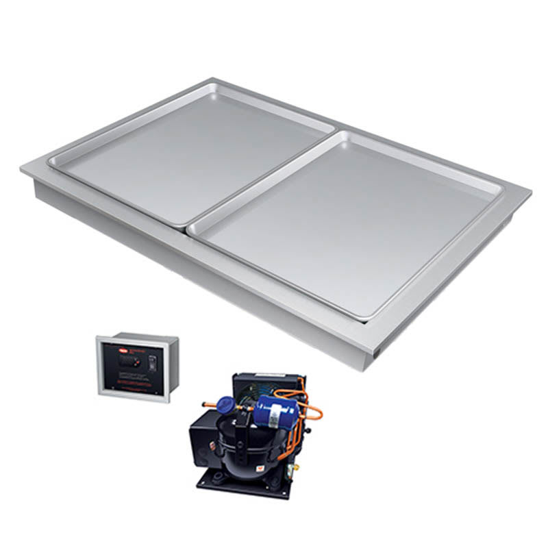 "Hatco FTBR-2 39"" Recessed Frost Top w/ Remote Compressor, 120v"
