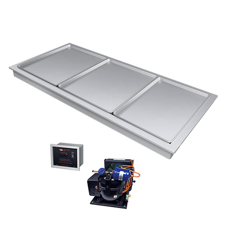 "Hatco FTBR-3 56"" Recessed Frost Top w/ Remote Compressor, 120v"