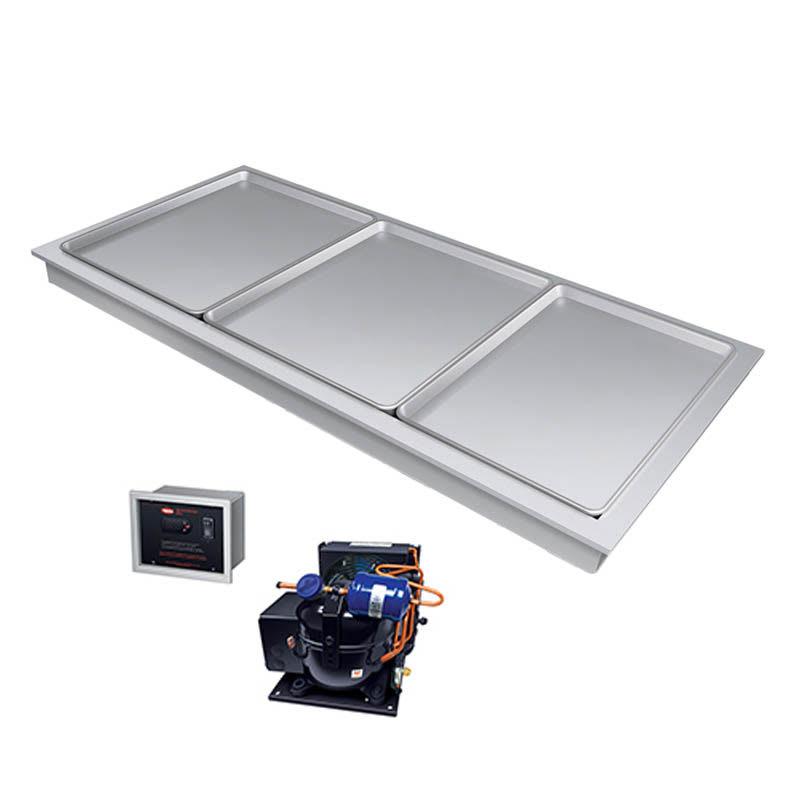 """Hatco FTBR-S3 80.81""""Recessed Frost Top w/ Remote Compressor, 120v"""