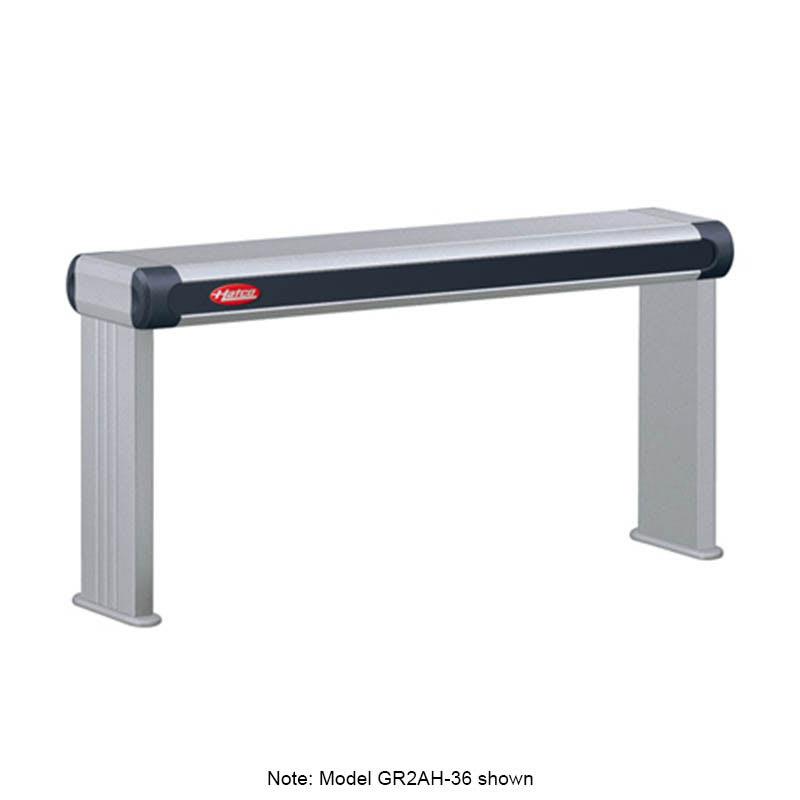 "Hatco GR2AH-36 39.5"" Infrared Foodwarmer w/ High Watt, 120 V"