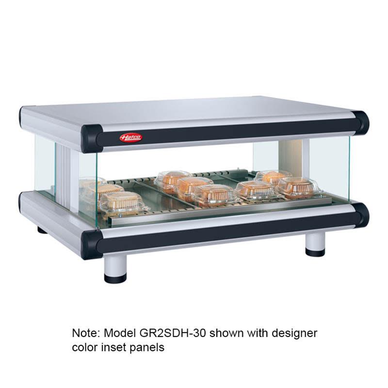 "Hatco GR2SDH-42 48.25"" Self-Service Countertop Heated Display Shelf - (1) Shelf, 120v"