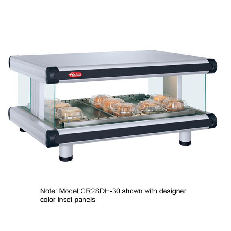"Hatco GR2SDH-60 66.25"" Self-Service Countertop Heated Display Shelf - (1) Shelf, 120v"