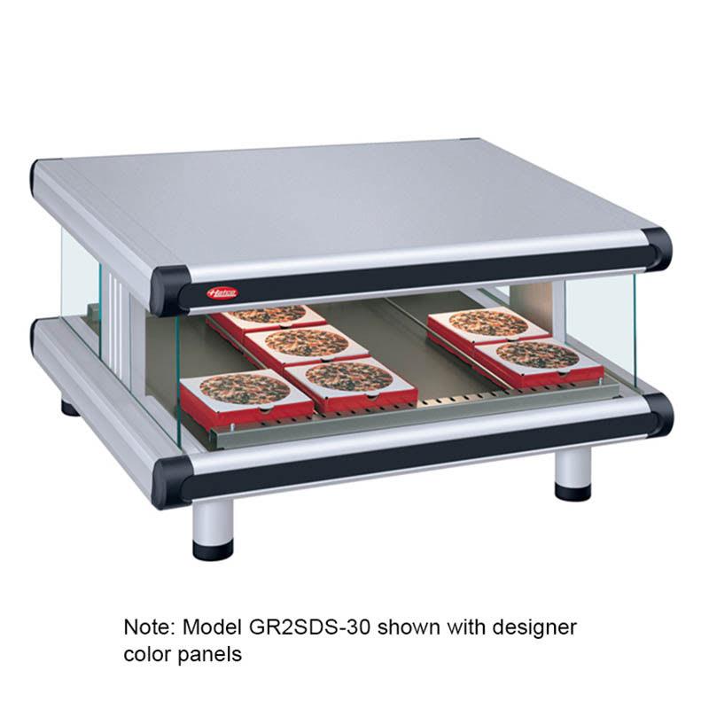 "Hatco GR2SDS-30 36.25"" Self-Service Countertop Heated Display Shelf - (1) Shelf, 120v"