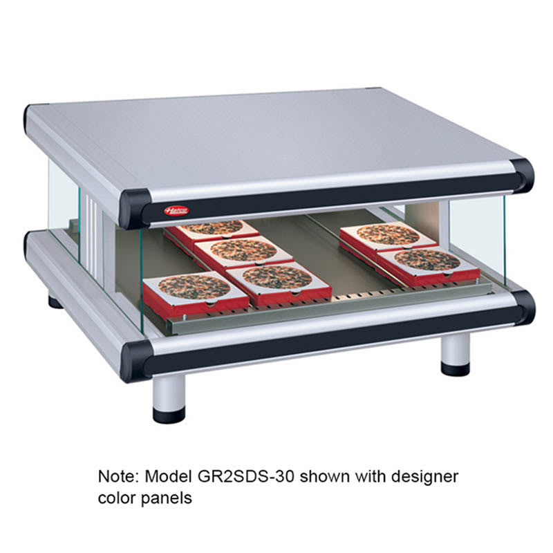 "Hatco GR2SDS-54 60.25"" Self-Service Countertop Heated Display Shelf - (1) Shelf, 120v"
