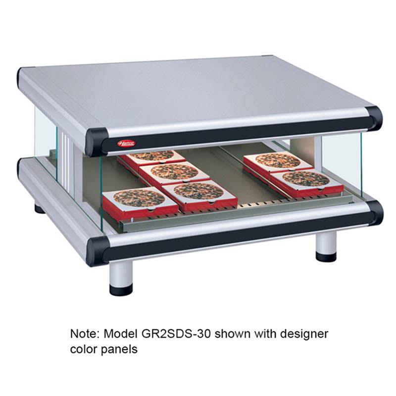 "Hatco GR2SDS-60 66.25"" Self-Service Countertop Heated Display Shelf - (1) Shelf, 120v"