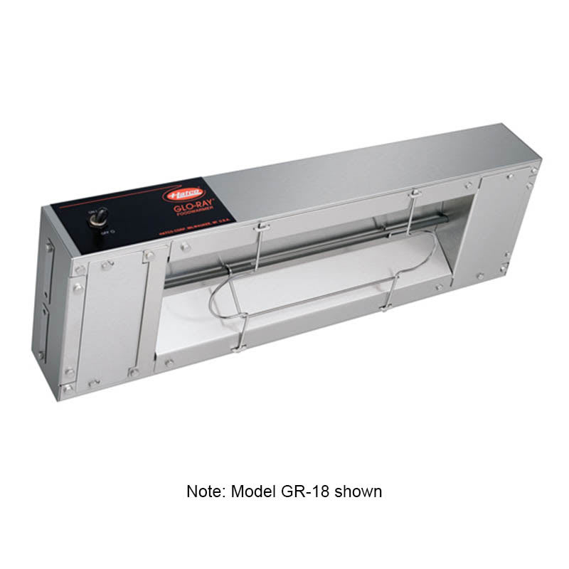 "Hatco GR-96 96"" Single Foodwarmer w/ Toggle Switch, 120 V"
