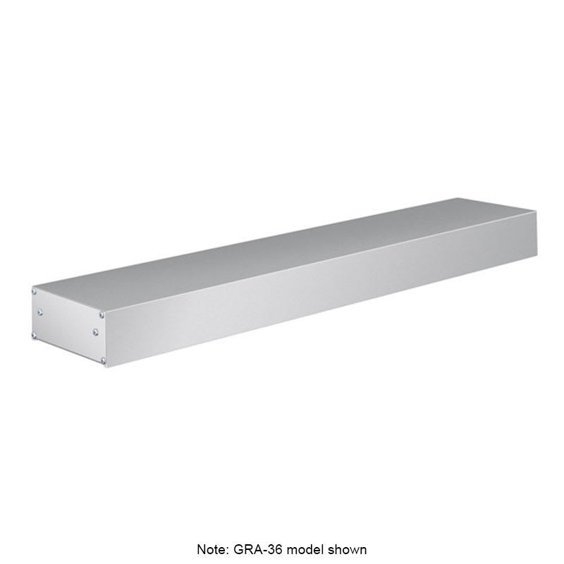 "Hatco GRA-96 96"" Infrared Foodwarmer w/ Single Heater Rod, 120v"