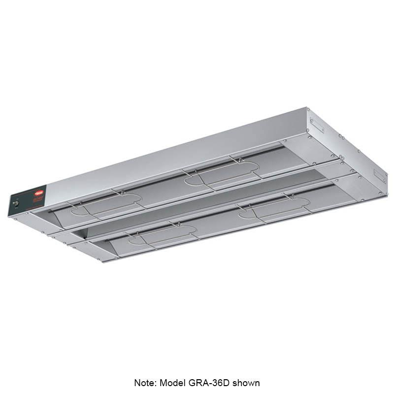 "Hatco GRA-96D3 96"" Infrared Foodwarmer w/ Dual Heater Rod, 120v"