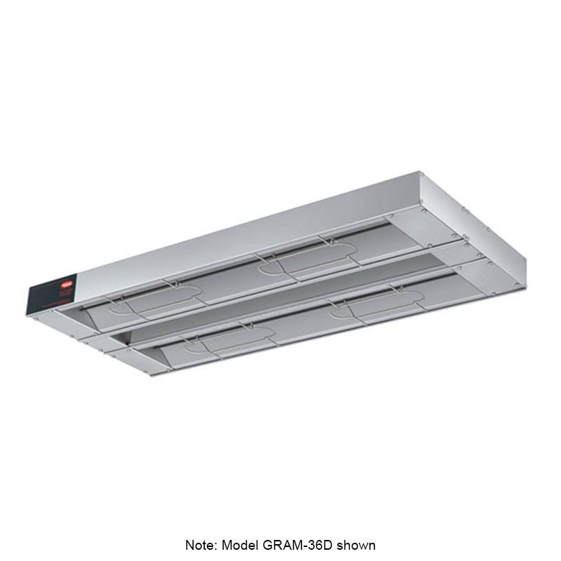"Hatco GRAM-132D-3 132"" Foodwarmer, Dual w/ 3"" Spacing, Max Watt, 208 V"