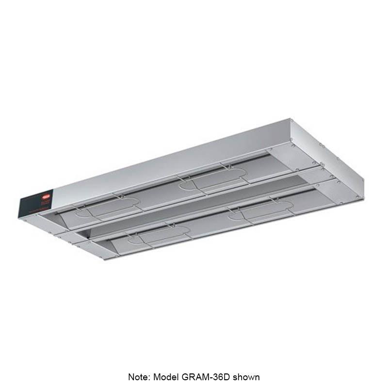 "Hatco GRAM-30D3 30"" Foodwarmer, Dual w/ 3"" Spacing, Max Watt, 120 V"
