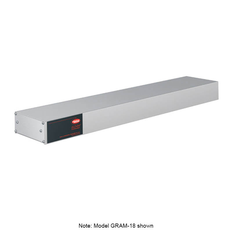 """Hatco GRAM-36 36"""" Single Infrared Foodwarmer w/ Max Watt, Aluminum, 240 V"""