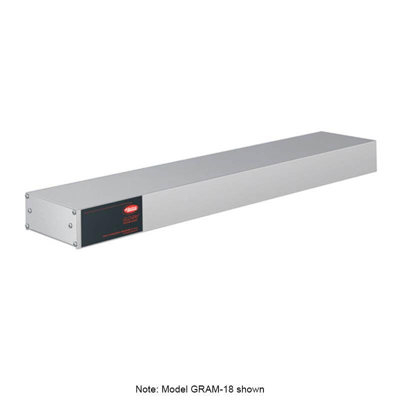 """Hatco GRAM-72 72"""" Single Infrared Foodwarmer w/ Max Watt, Aluminum, 240v/1ph"""