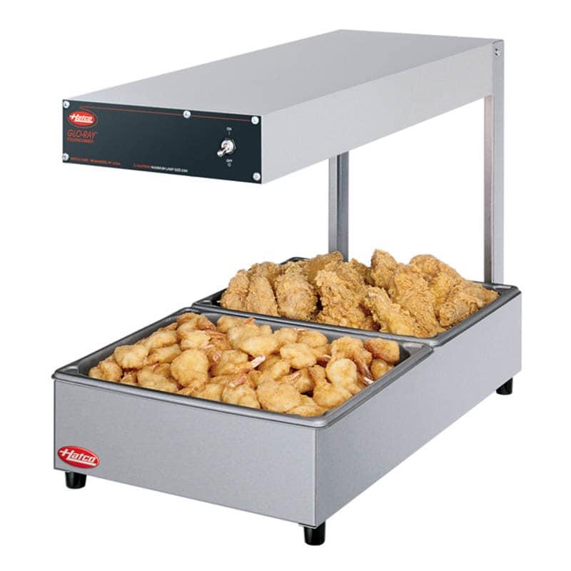 Hatco GRFFL Glo-Ray Display Food Warmer, Countertop, 620 Watts, 120v