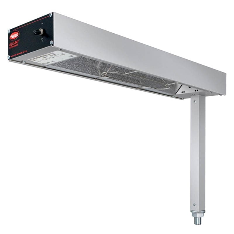 "Hatco GRFS-24 6"" Glo-Ray® Heat Lamp - Strip-Type, 120v"