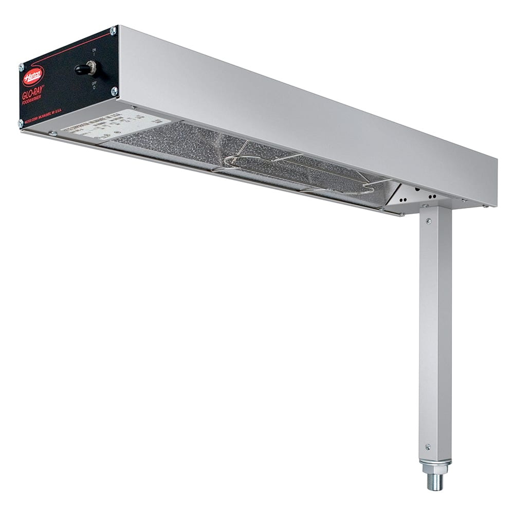 "Hatco GRFSR-24 6"" Glo-Ray® Heat Lamp - Strip-Type, 120v"