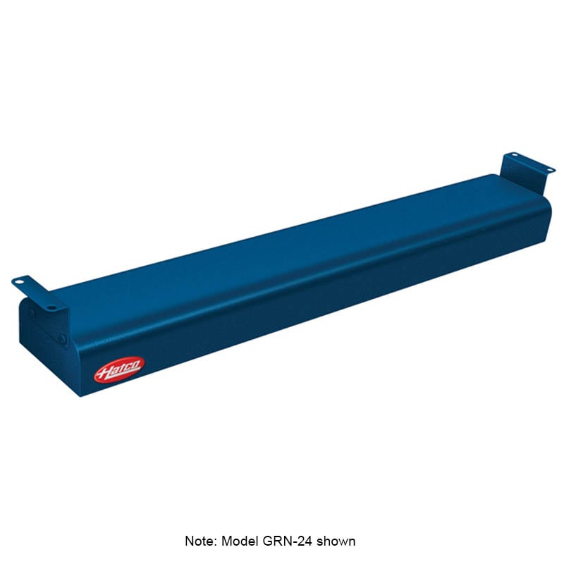 "Hatco GRN-18 18"" Narrow Infrared Foodwarmer, Navy, 208 V"