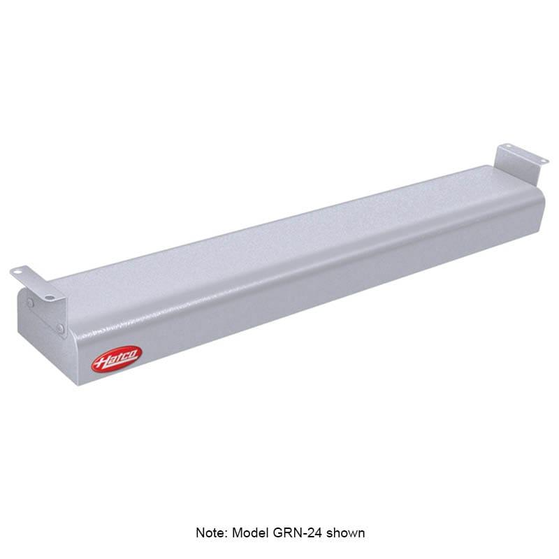 """Hatco GRN-18 18"""" Narrow Infrared Foodwarmer, White Granite, 208 V"""