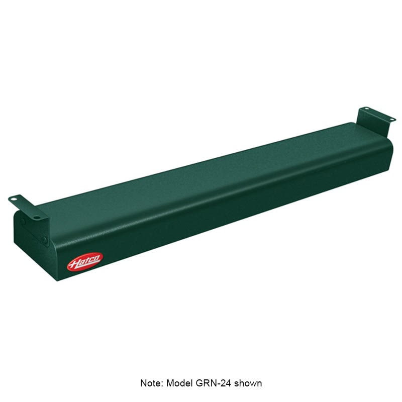 "Hatco GRN-18 18"" Narrow Infrared Foodwarmer, Hunter Green, 240 V"