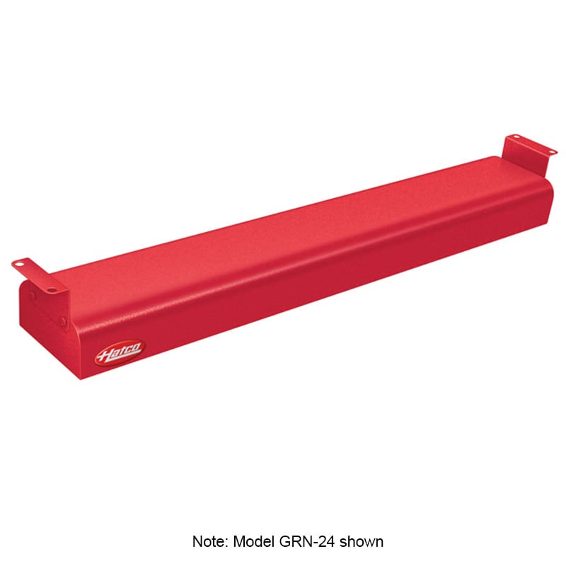 "Hatco GRN-30 30"" Narrow Infrared Foodwarmer, Warm Red, 120 V"