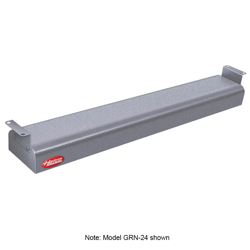 """Hatco GRN-30 30"""" Narrow Infrared Foodwarmer, Gray Granite, 240 V"""