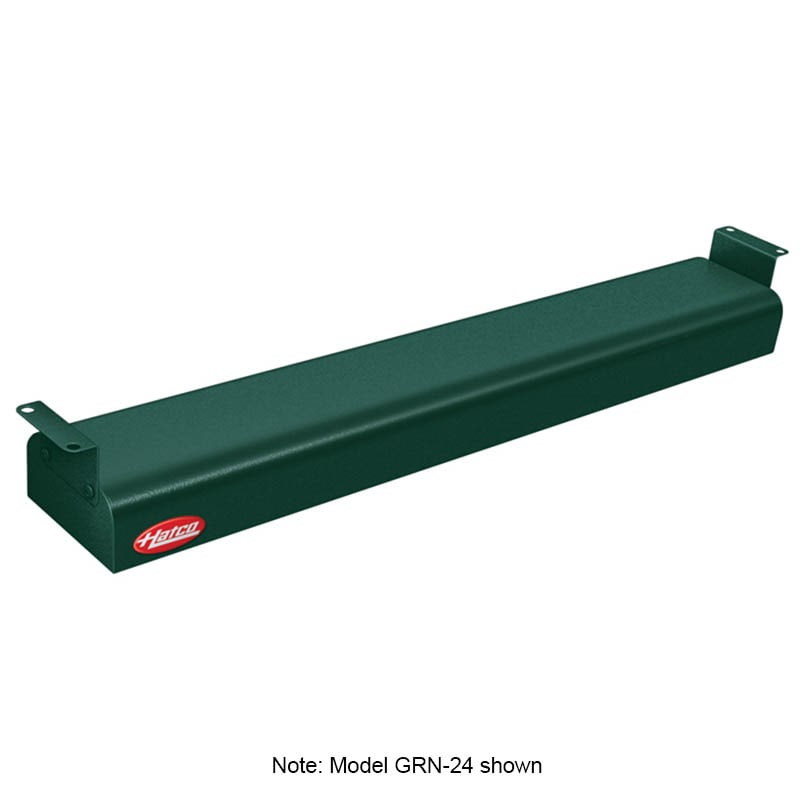 "Hatco GRN-30 30"" Narrow Infrared Foodwarmer, Hunter Green, 240 V"