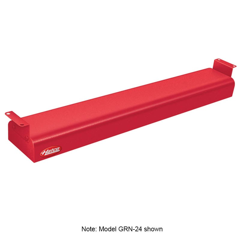 "Hatco GRN-36 36"" Narrow Infrared Foodwarmer, Warm Red, 120 V"