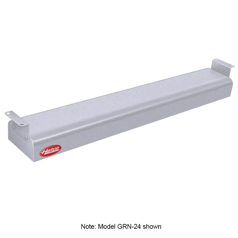 """Hatco GRN-36 36"""" Narrow Infrared Foodwarmer, White Granite, 120 V"""
