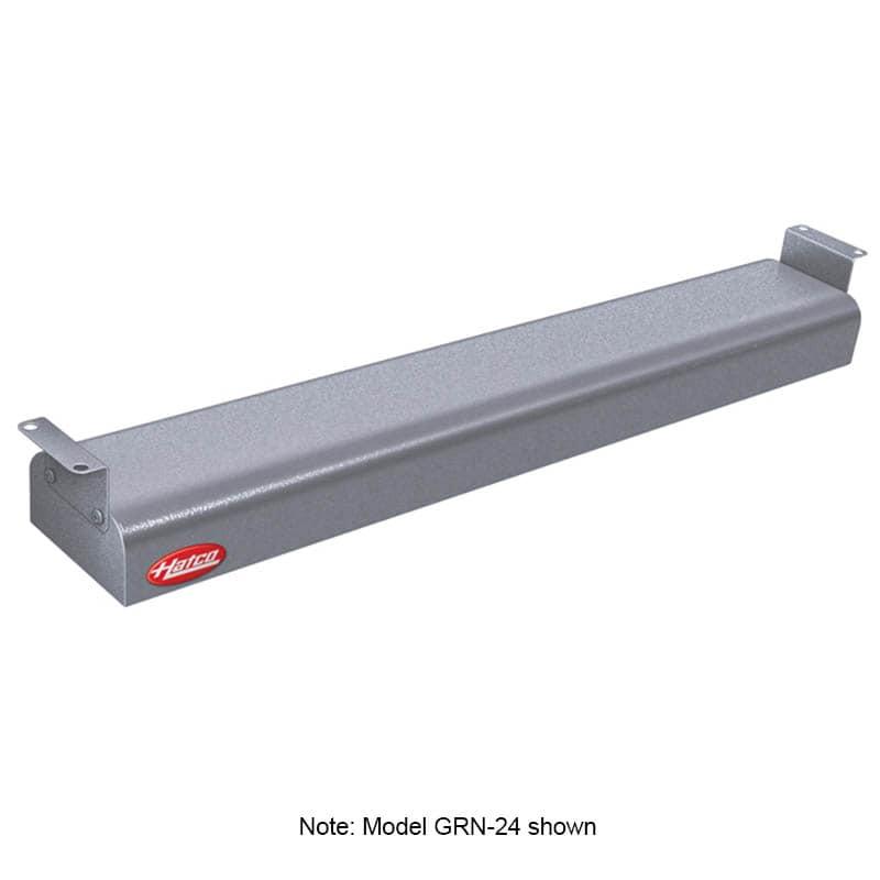 """Hatco GRN-36 36"""" Narrow Infrared Foodwarmer, Gray Granite, 208 V"""