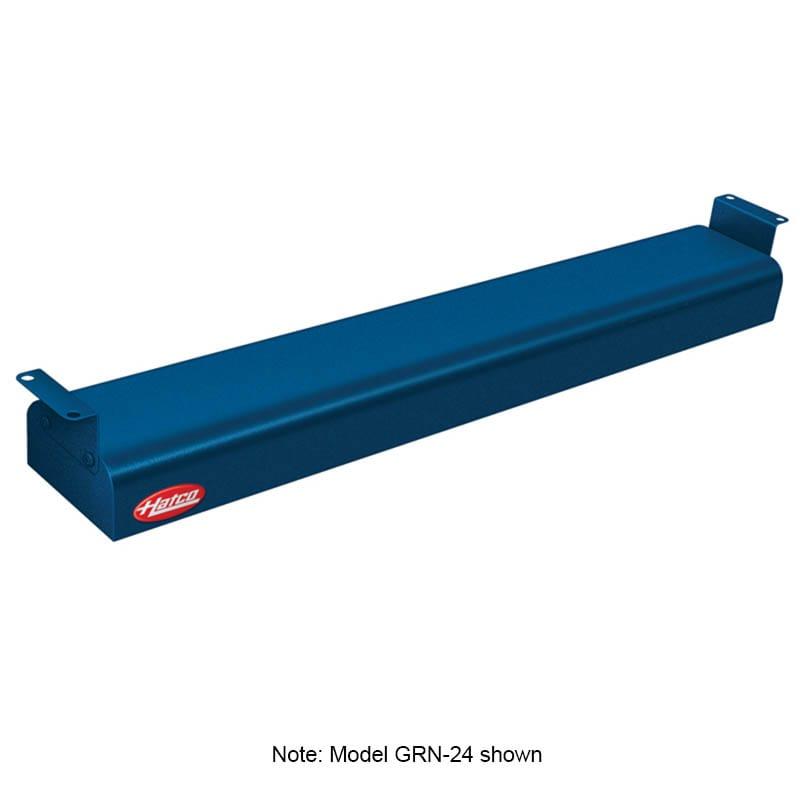 "Hatco GRN-36 36"" Narrow Infrared Foodwarmer, Navy, 240 V"