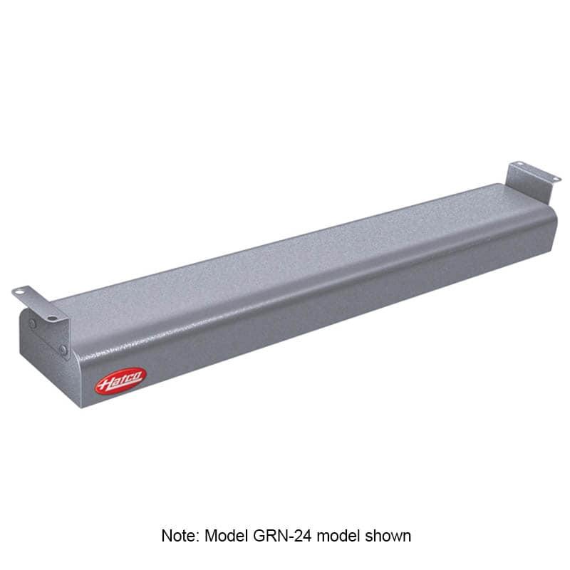 "Hatco GRN4-18 18"" Narrow Halogen Foodwarmer, Gray Granite, 120 V"