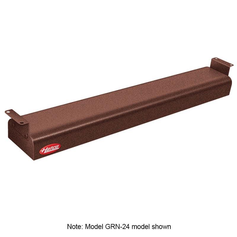 "Hatco GRN-42 42"" Narrow Infrared Foodwarmer, Antique Copper, 120 V"