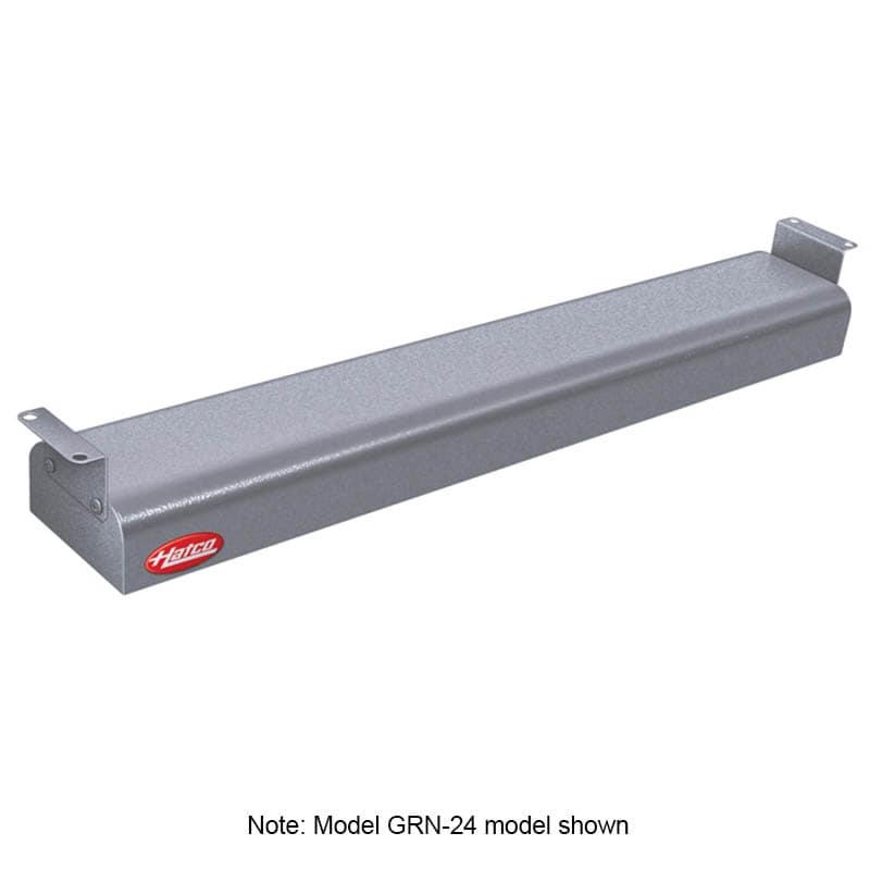 """Hatco GRN-42 42"""" Narrow Infrared Foodwarmer, Gray Granite, 120 V"""